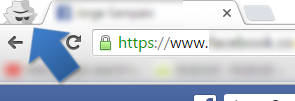 modo privado do chrome