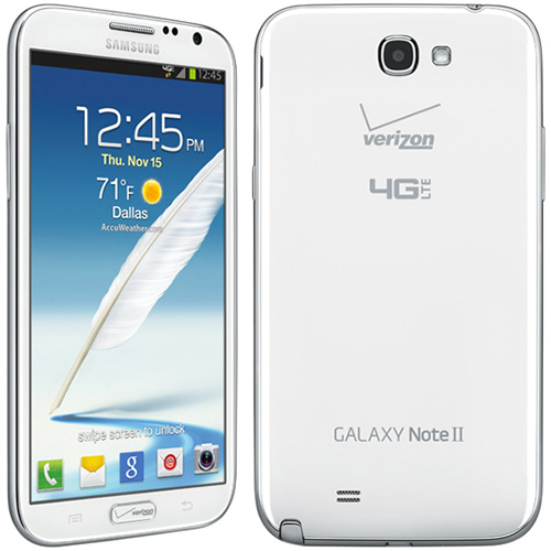 Buy Samsung Galaxy Note II 4G Android Phone, Marble White (Verizon Wireless)