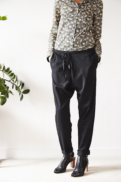 Pantalon noir Elsa Esturgie