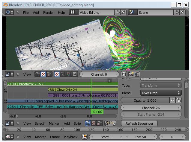 Blender Sushi: BASIC / Blender Video Editing 101