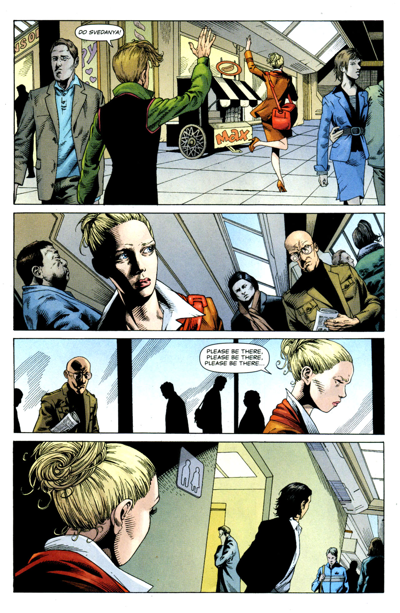 Read online Air comic -  Issue #9 - 18