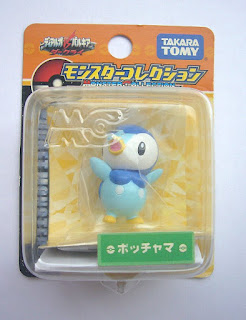 Piplup new pose hands up Pokemon Figure Takara Tomy Monster Collection MC series