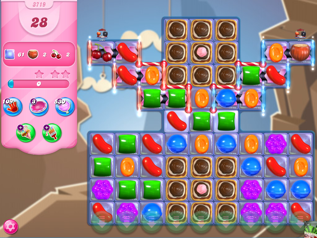 Candy Crush Saga level 3719