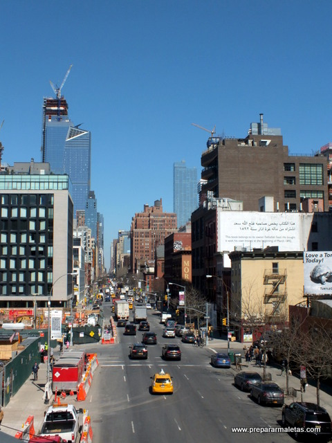 vistas del high line new york