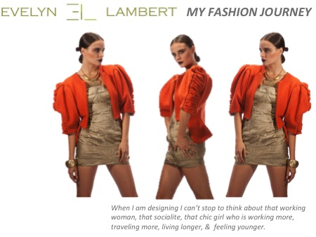 EVELYN LAMBERT'S FASHION JOURNEY