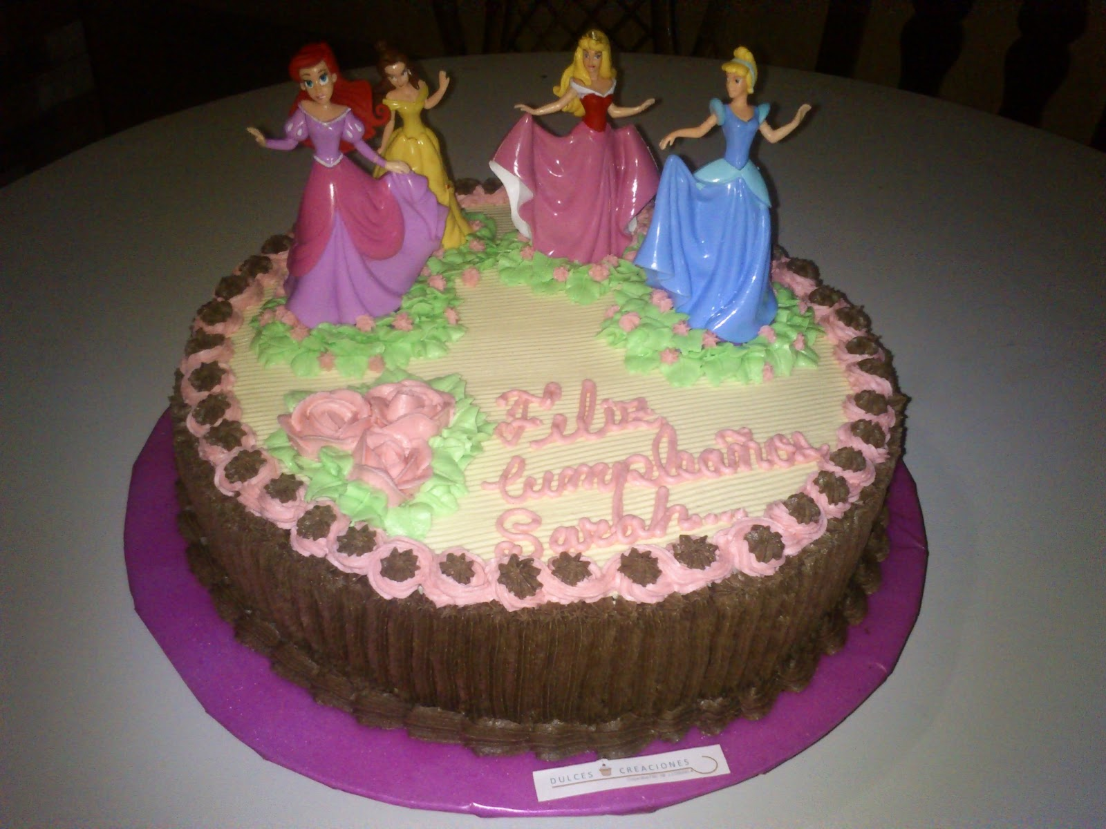 torta de cumpleaos princesa - photo #21