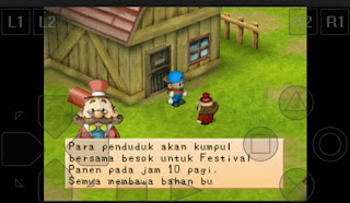 Screenshot Harvest Moon: Back to Nature (Bahasa Indonesia) For Android