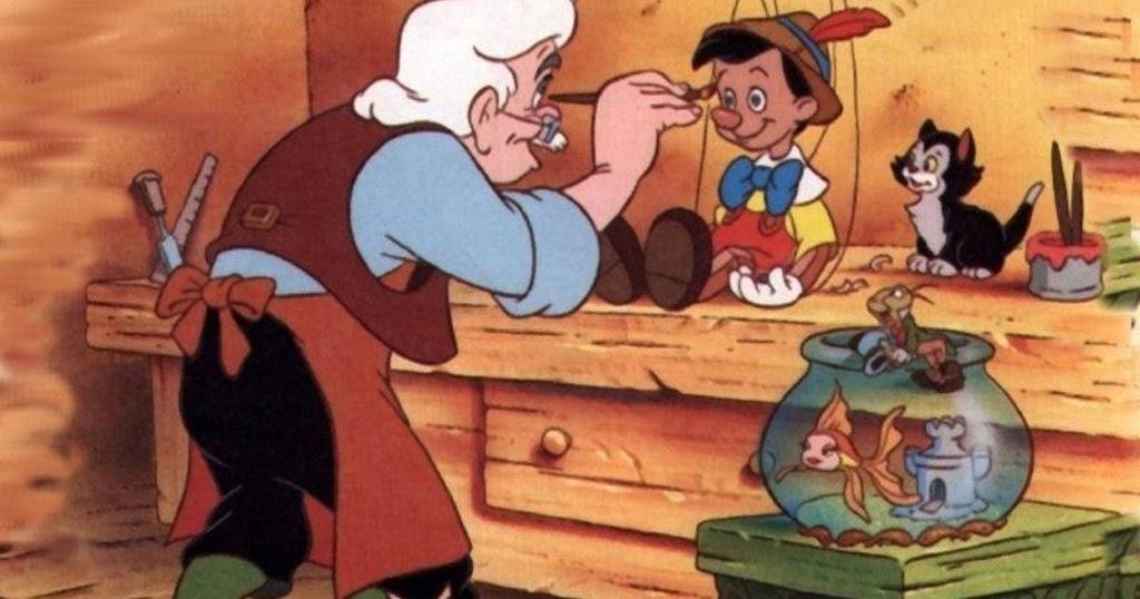 Mewarnai Gambar Pinokio Mewarnai Gambar