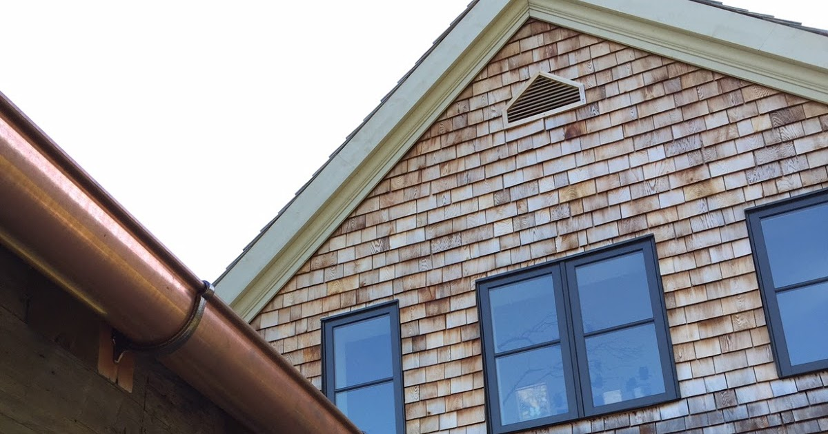 Building Walnut Farm Architectural Bling Copper Gutters
