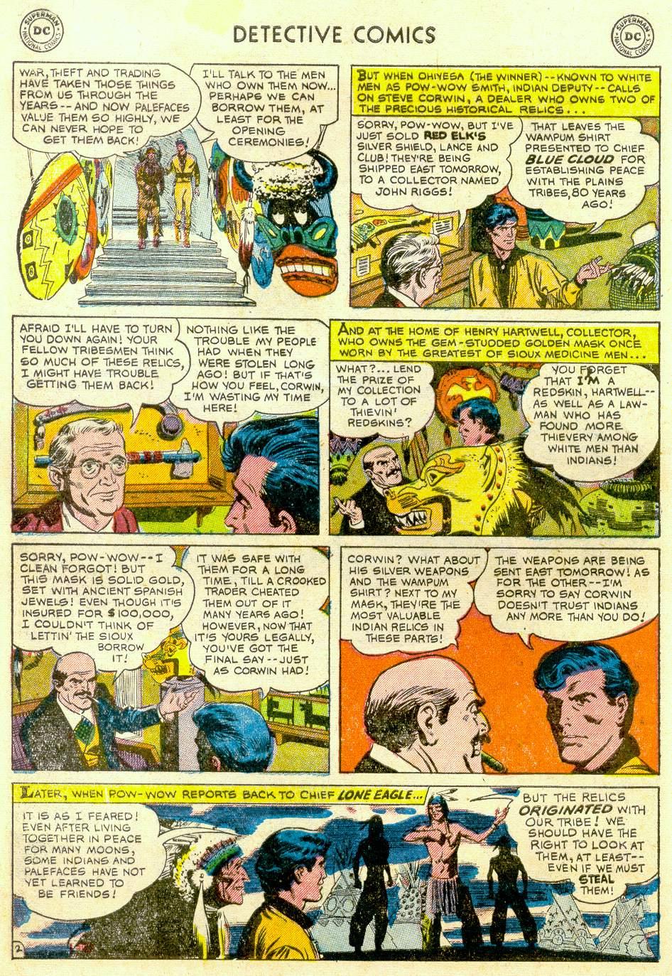 Read online Detective Comics (1937) comic -  Issue #184 - 36