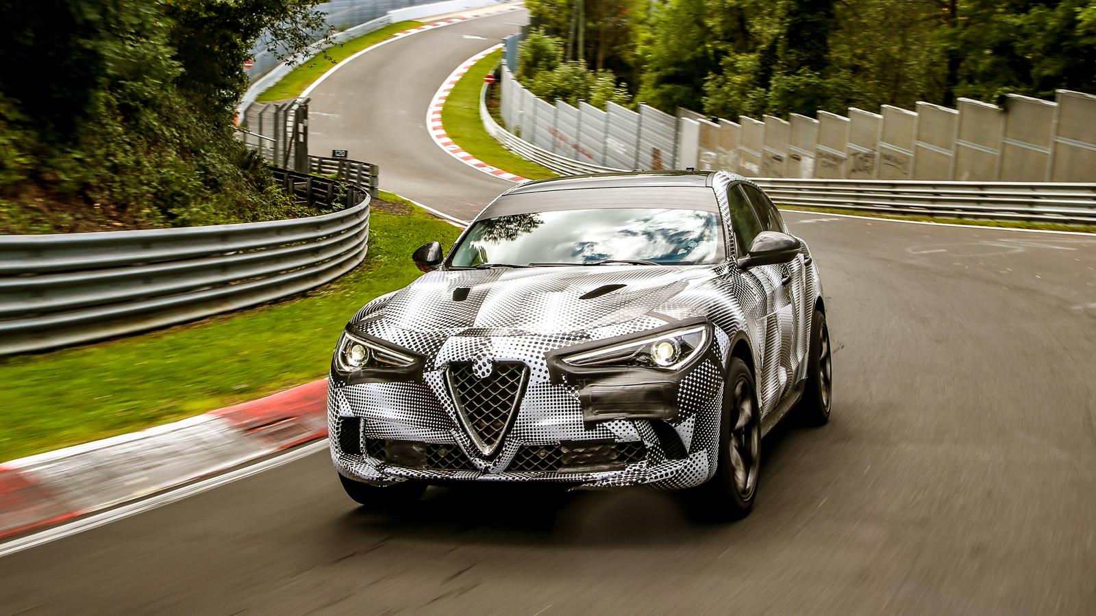 Partiendo récords, Alfa Romeo Stelvio, el más rápido de los SUV ...