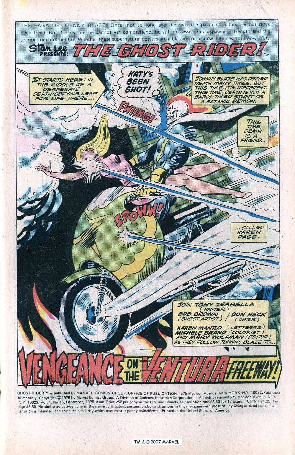 Ghost Rider (1973) Issue #15 #15 - English 3