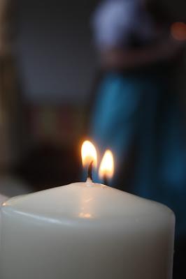 Kerzenlicht, Hochzeitsmotto aus M wird M, Pastell und Vintage im Riessersee Hotel Garmisch-Partenkirchen, Bayern