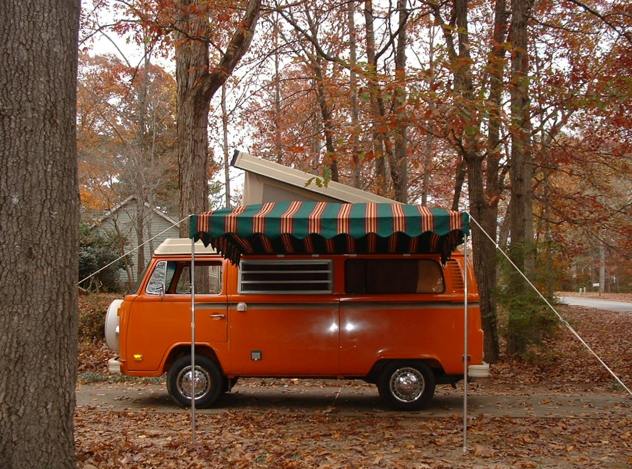 Vintage Awnings: Westfalia Bus Arched Awnings VW Images