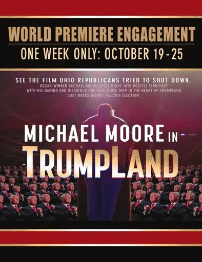 Ver Michael Moore en TrumpLand (2016) Online
