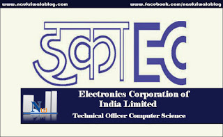 Technical Officer Computer Job 2016
