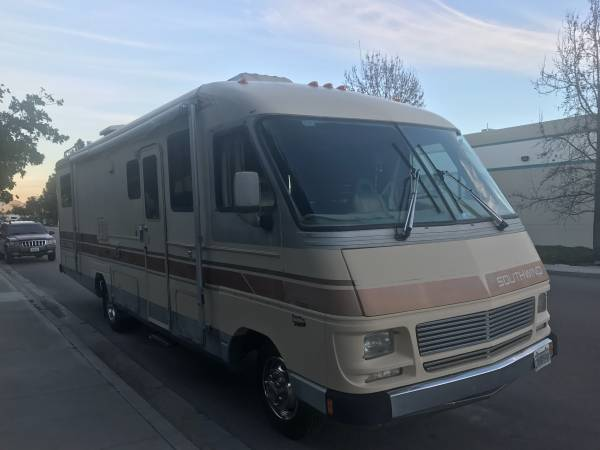 Used Rvs 1988 Southwind Fleetwood 30 Ft Motorhome For Sale
