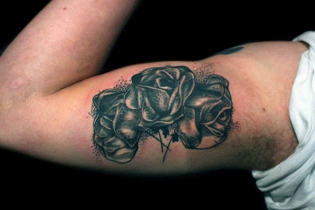 Tatuagens Desenhos Tatuagem E Piercings Rosa Negra Tatuagem