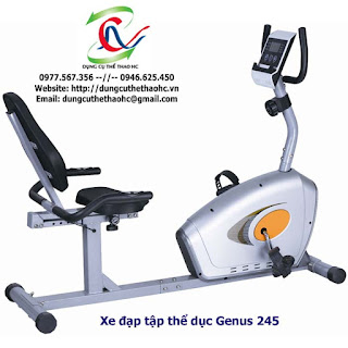 Xe đạp tập chèo thuyền Genus 245 giá rẻ