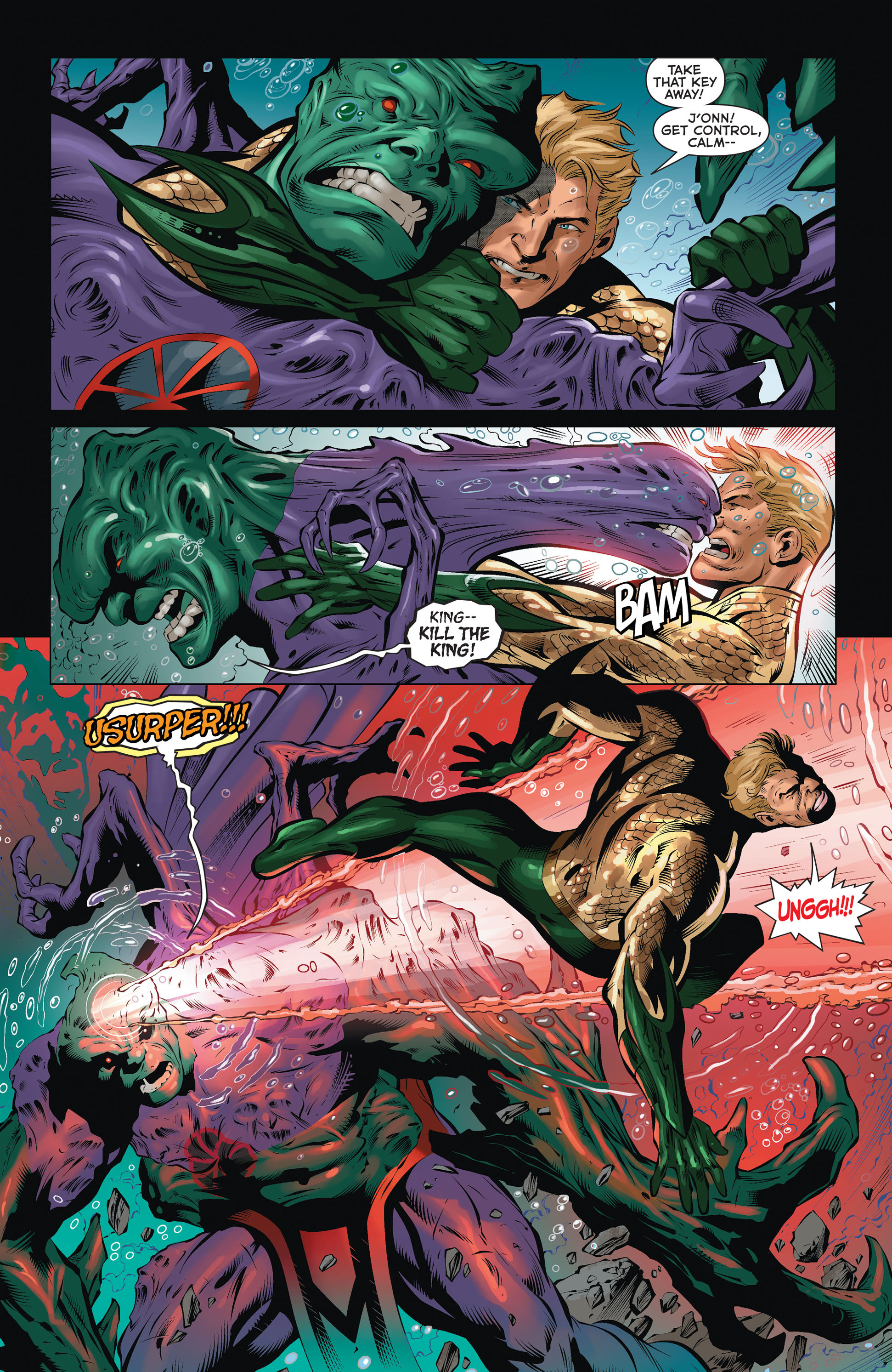 Read online Aquaman (2011) comic -  Issue #36 - 14