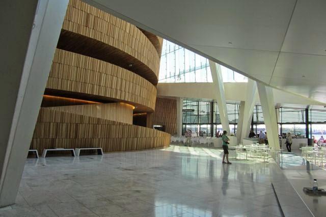 Oslo Operagebouw Centrale hal