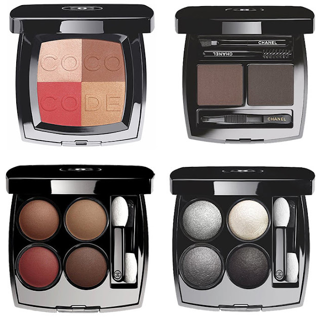 Chanel Coco Code Makeup Spring 2017 Collection