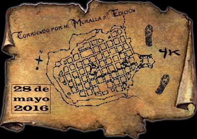4k Corriendo por mi muralla (Ciudad vieja de Montevideo, 28/may/2016)