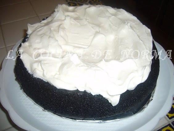 CAKE DE CERVEZA NEGRA