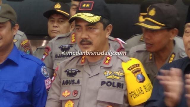 Massa Bubarkan Acara GP Ansor,Kapoldasu Tegur Wakapolres Langkat
