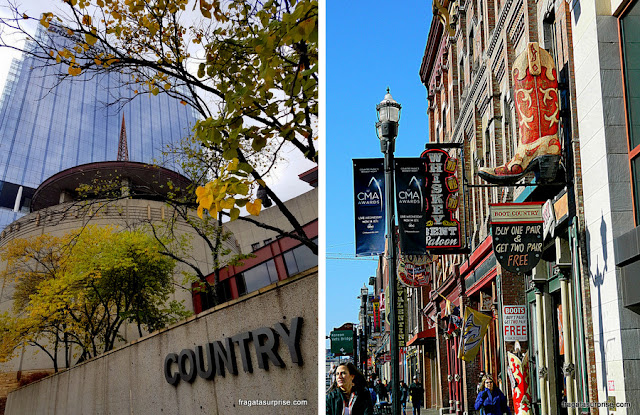 Nashville: Country Music Hall of Fame e uma loja de botas de cowboy na Broadway