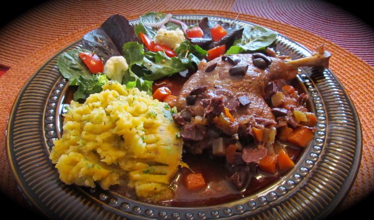 La cuisine de messidor cuisses de canard l italienne - Cuisson cuisse de canard ...