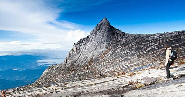 Top of Mount Kinabalu Sabah