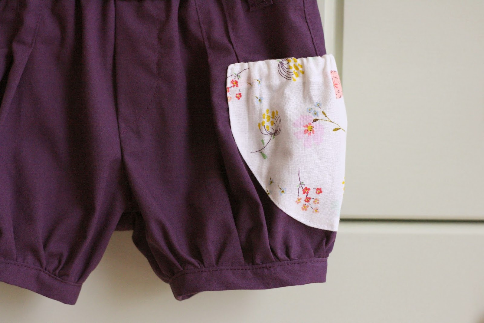 image Bubble milf purple shorts scope