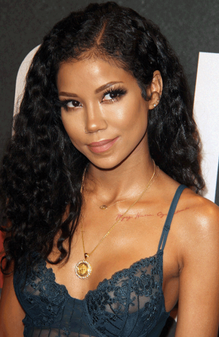 Jhene THOT - Singer Jhene Aiko attends Chris Brown's event with her boobs on display (photos)