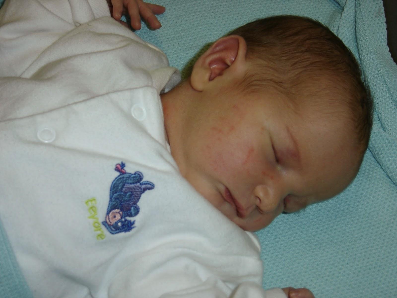 Baby Caitlin born in 2007 - having babies over 40 - motherdistracted.co.uk