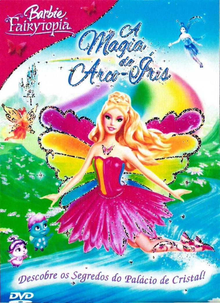 Poster do filme Barbie a Magia do Arco-Íris