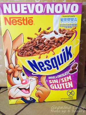 Nesquik Cereales sin gluten  Degustabox Febrero 2016