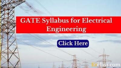 electrical engineering gate syllabus