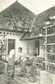 Foto Jadoel Lebaran 1953