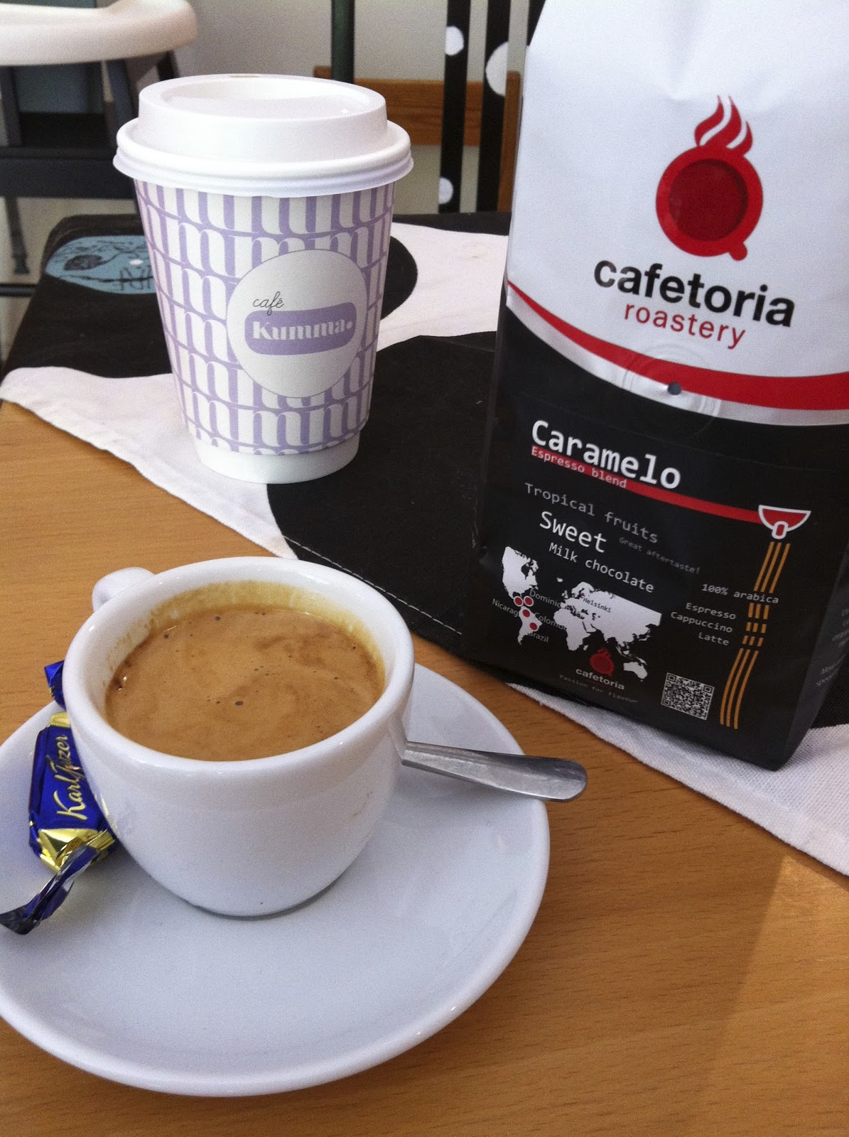 Kahvimaitoa