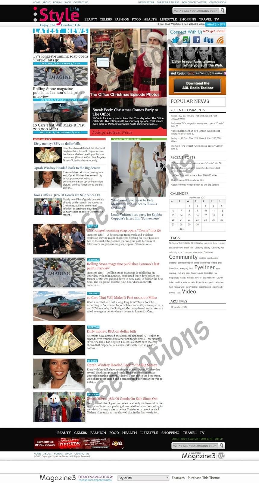 Newspaper - News Magazine