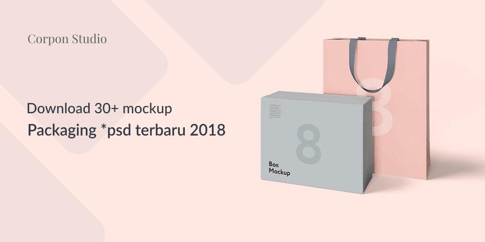 Mockup Packaging/Kemasan PSD 2018