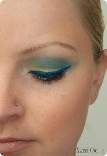 Grün Blaues Augen-Make-up