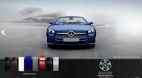 Mercedes SL 400 2019 màu Xanh Brilliant 896
