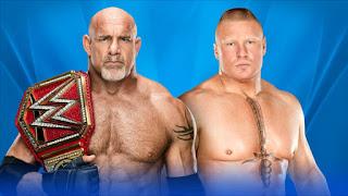 Goldberg Wrestlemania 33
