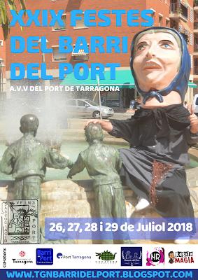 cartell festes barri del port 2018 sargidora