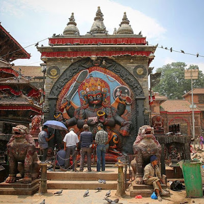 Gal Bhairav en Katmandú