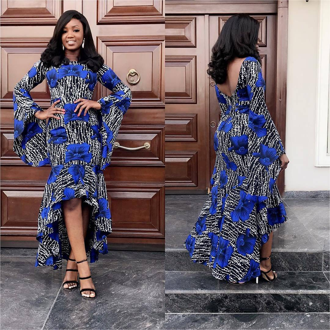 Checkout These Latest Pictures Of Beautiful Long Gown Styles 2018 »
