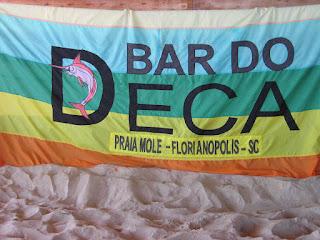 Bar do Deca Florianopolis gay Praia Mole bandera arcoiris