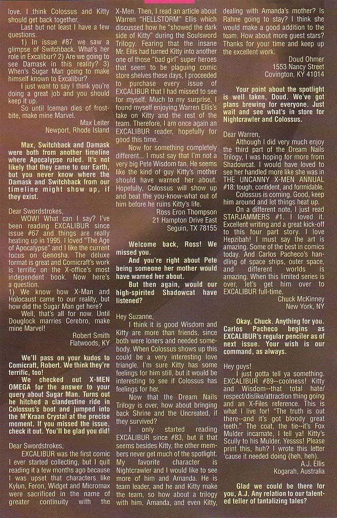 Excalibur (1988) issue 94 - Page 21